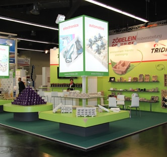 Exhibition in the FachPack trade fair in Nurnberg, Germany